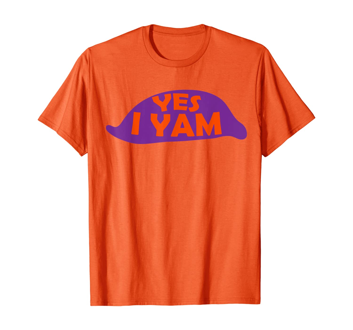 &quot-yes I Yam T Shirt&quot- She's My Sweet Potato Funny Couples Gift T-shirt