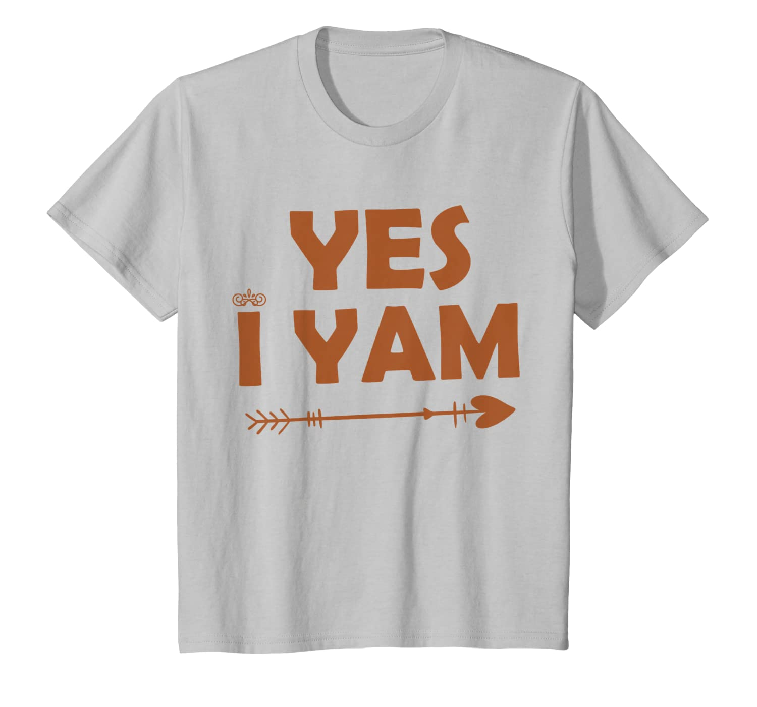 &quot-yes I Yam T Shirt&quot- She's My Sweet Potato Funny Couples Gift T-shirt 3